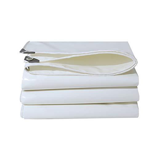 DGLIYJ- Abdeckplanen Cuchillo Blanco para Raspar La Lona Exterior De 0,52 Mm De Espesor Parasol Auxiliar Tela De Aislamiento Térmico para Tienda (500 G / ㎡)(Size:3x5m)
