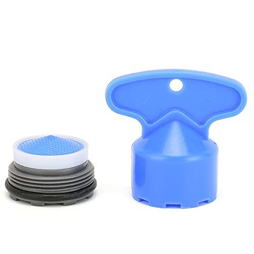 Roscas Masculinas Grifo Integrado Incorporado Bubbler Fregadero Aireador Burbuja laminar Grifo de Ahorro de Agua Aireador para Cocina Baño(M21.5)