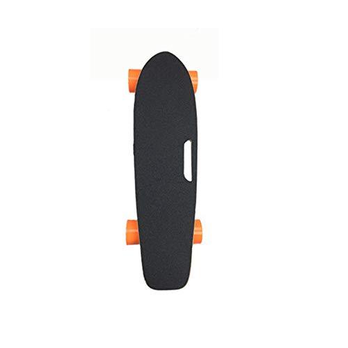 Tornado elektrisch Skateboard mit Fernbedienung, 18km/h Höchstgeschwindigkeit, 10km Max Range, Dual 500 W Motor, 5A Grade Maple mit aktualisiertem Board,2