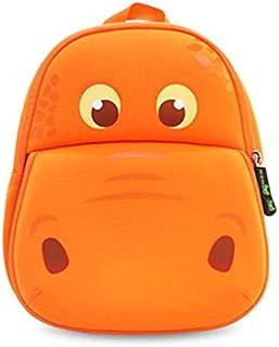 Hippo Backpack (Orange)