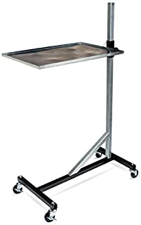 Eastwood Rolling Shop Tray Tool Cart Durable Steel Construction 100Lb Capacity Adjustable Height and Angle for Garage Shop...