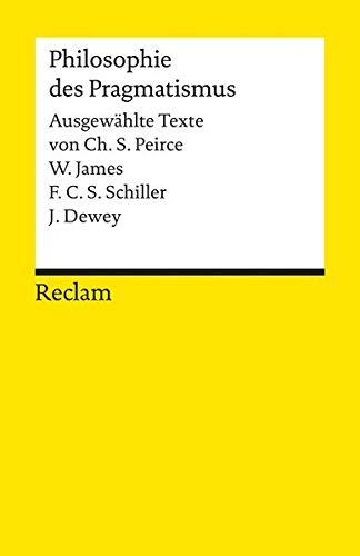 Pragmatismus (Reclams Universal-Bibliothek)