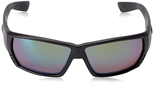 Costa Del Mar Men's Tuna Alley 580g Rectangular Sunglasses