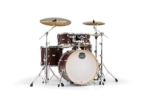 "Mapex MA529SFRW Mars Series 5-Piece Rock Shell Pack w/ 22"" Bass Drum - Bloodwood"