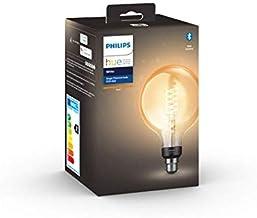 G125 B22 Filament Globe Smart Bulb, Warm White