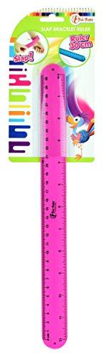 Toi-Toys Regla brazalete rosa, 30 cm