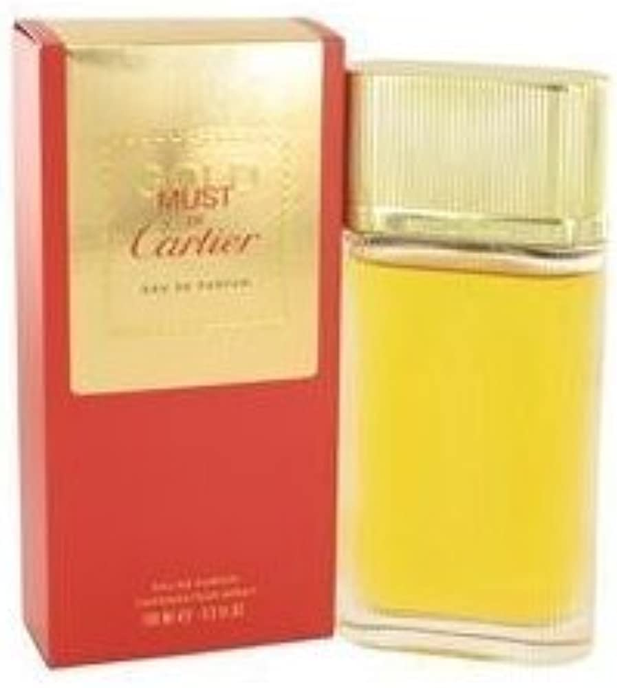 Cartier must gold,eau de parfum,profumo per donna, spray,98 ml FM100002