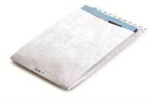 Tyvek Faltentasche mit Spitzboden C4 (324x229x38 mm) haftklebend weiß 55g 20er Pack 100 Stück