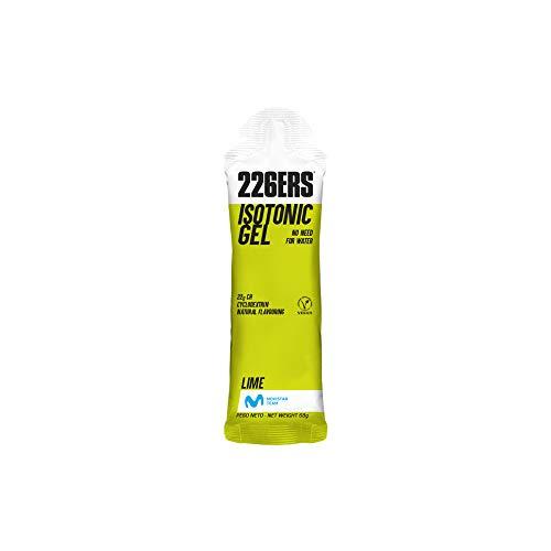 226ERS Isotonic Gel, Gel Isotónico a Base de Hidratos de Carbono y Ciclodextrina, Lima - 1 unidad