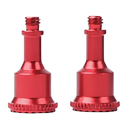 Perfeclan Control Remoto de Aluminio CNC 2 Piezas basculante para dji Mavic Air 2 / 2S / Mini 2 Drone, Duradero y cómodo - Rojo