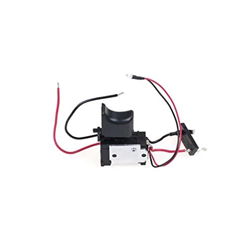 XIAOFANG 7. 2V-24V 16A Para la batería de litio, el interruptor de velocidad del interruptor de velocidad del interruptor de velocidad del interruptor de perforación eléctrica con una luz pequeña FA2-