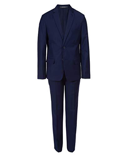 Buttoned Down Men's Classic Fit Super 110 Italian Wool Suit Jacket, Black, 50 Long