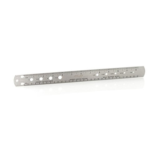 XLC Speichenmesslehre Pieces de Velo Mixte, Silber, 10 x 5 x 5 cm