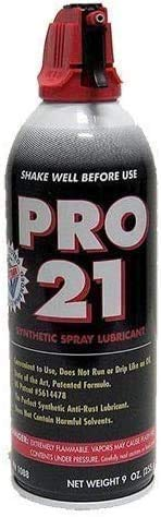 Garage Door Pro 21 Spray Grease Lubricant 9oz (One Can) Synthetic Spray Lubricant