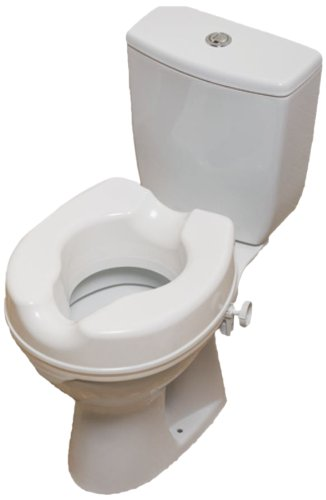 NRS Healthcare Linton Plus Erhöhter Toilettensitz 10,16 cm Höhe