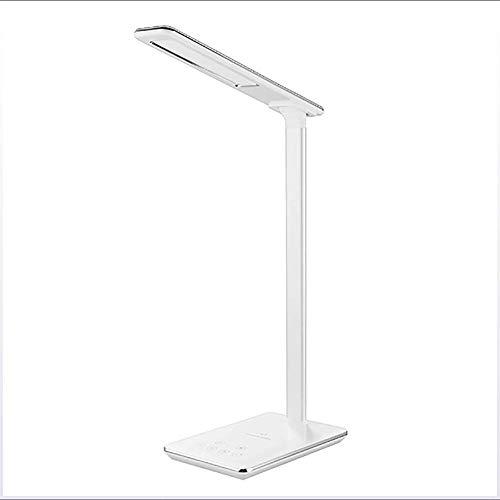 Lámpara de Mesa de Iluminación Decorativa Interior Lámpara de mesa - Portable LED de la lámpara de escritorio, lámpara regulable pequeño escritorio con control táctil, función de memoria for la Vida O