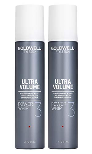 2er Volumen Schaum Goldwell Stylesign Ultra Volume Power Whip 300 ml
