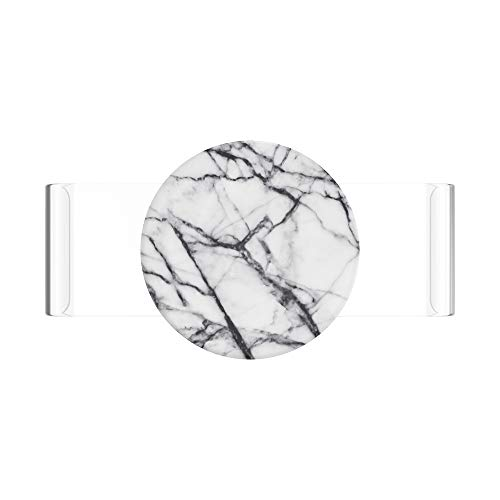 PopSockets PopSlide - PopGrip Non Adesiva per Le Custodie in Silicone iPhone 11 PRO - Clear as Day