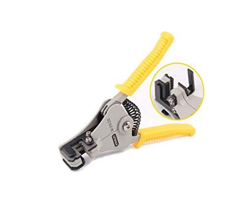 LONGWDS Alicates Conveniente for el hogar de reparación, Mantenimiento Industrial Es Decir, al Aire Libre de 6 Pulgadas Multi-función automática de desmontaje del Juego de alicates, (Color: Amarillo,