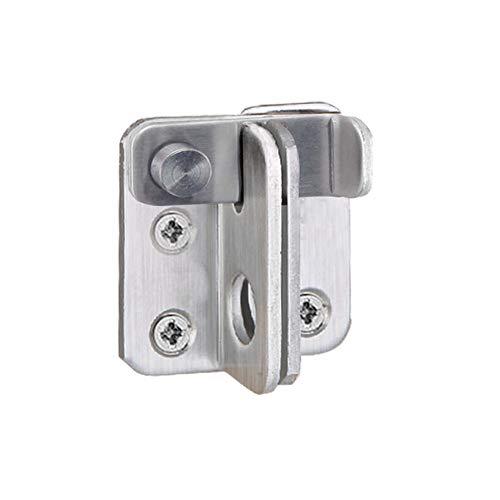 Tiberham - Cerrojo para puerta, pestillo de acero inoxidable resistente, pestillo para puerta corredera, pestillo de seguridad para puerta, ventana, gabinete, jaula de mascotas, accesorios