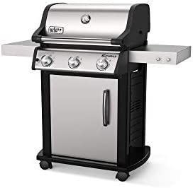 Weber 46502001 Spirit S 315 LP Gas Grill Stainless Steel product image