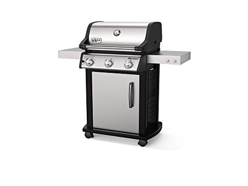 Gas Grill, Stainless Steel