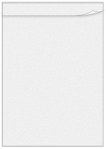 Veloflex 0440090 Übungsschreibfolie DIN A4, aus PVC, matt transparent, 50 Stück