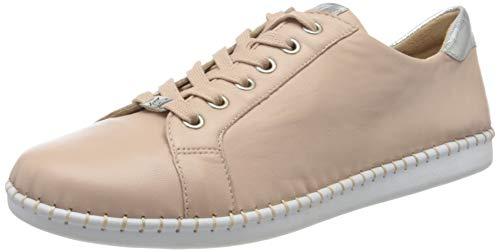CAPRICE Damen Inna Sneaker, Rosa, 39 EU