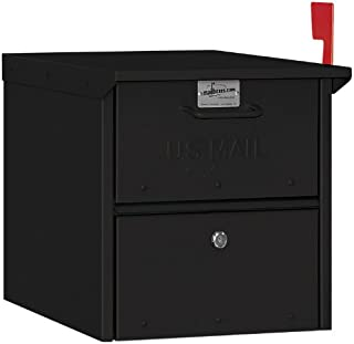 Salsbury Industries 4325BLK Roadside Mailbox, Black