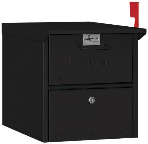 Salsbury Industries 4325BLK Roadside Mailbox, Black