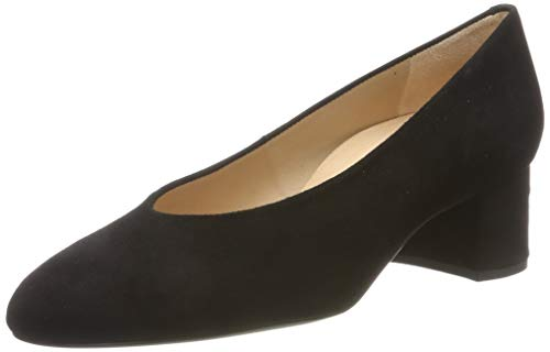 Unisa Loreal_KS, Zapatos Tacón Mujer, Negro Black