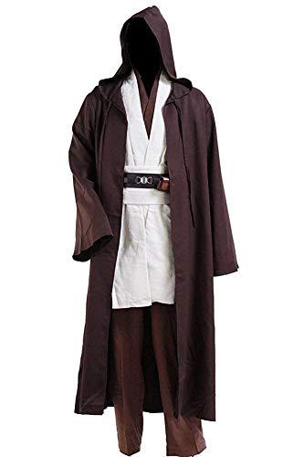 CosDaddy Mens Cosplay Costume Tunic Robe Full Set (XL-Men)