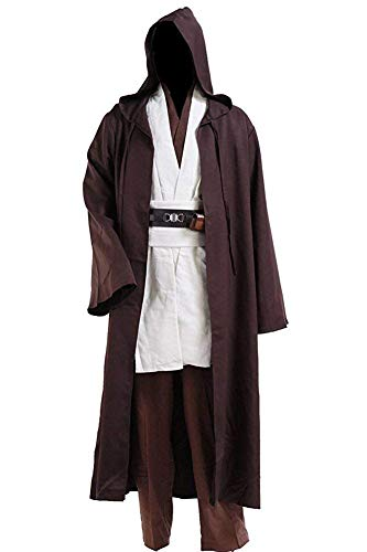 CosDaddy Mens Cosplay Costume Tunic Robe Full Set (XL-Men)