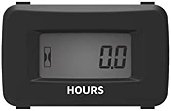 Runleader Digital LCD Hour Meter Kit,AC/DC 5V to 277V,Use For ZTR Lawn Mower Tractor Generator Golf cart Club car Scrubber Marine ATV Motor Compressor and Gas Powered Equipment