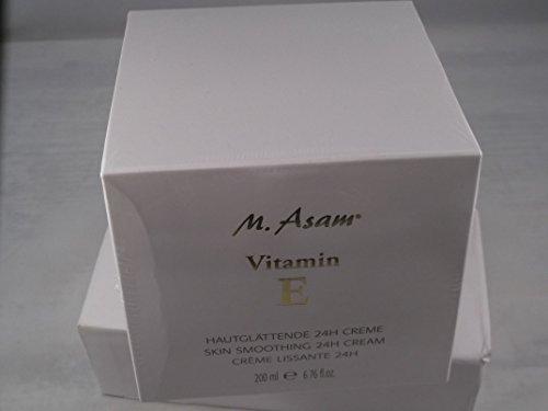 M.Asam Vitamin E hautglättende 24h Creme XL 200 ml