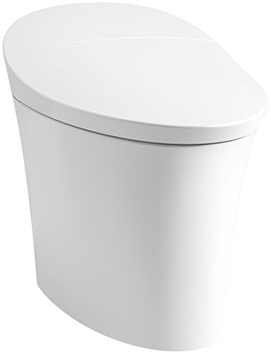 KOHLER K-5401-0 Veil Skirted 1 Piece Smart, Dual Flush...
