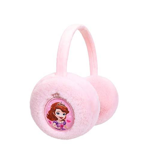 Ohrenschützer Kinder Weicher Plüsch-Außen Ear Muffs Winter Es Hält die Ohren Winddichte Soft Warm Und Komfortabel (Color : Pink1)