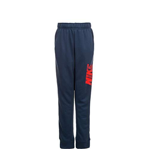 Nike B Nk Dry GFX Tapr Pant, Kinder, Midnight Navy/University Red, XS
