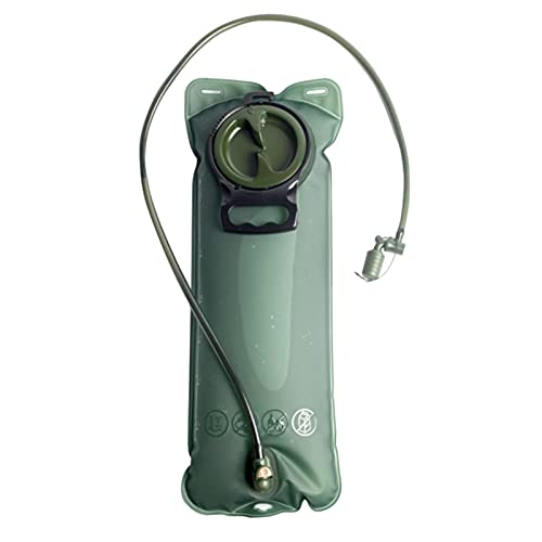 ZHOUSAN 2-3L/10L al aire libre de la bolsa de agua de la hidratación de la mochila táctica botella con el tubo de bebida desmontable senderismo a prueba de fugas bolsa de depósito de agua