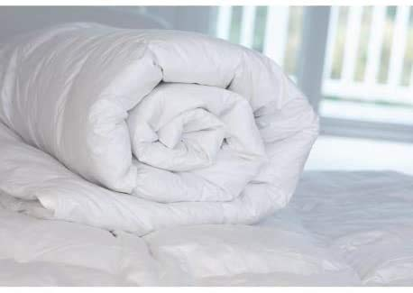 Home & Bath Co. Low Cost Value Duvet Tog Anti-Allergy Corovin Cover Hollowfibre Filled All Bed Sizes Made In The UK (Single 4.5 Tog)