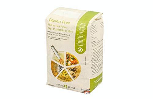 Novo Farina Gluten Free, Vegan Yellow Pea Flour, 1 kg, high in Protein & Fibre