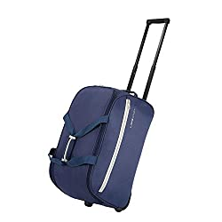 Lavie Sport Polyester 53 cms Navy Travel Duffle (BDFW213040M4),Bagzone Lifestyle Pvt Ltd,BDFW213040M4