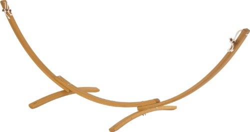 Jobek - Hängemattengestelle in Natur, Größe 320x100x105