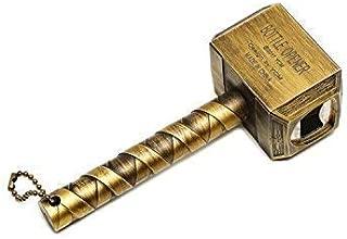 ThreeJ Thor Hammer Bottle Opener/Beer Opener/Wine Opener (Bronze)