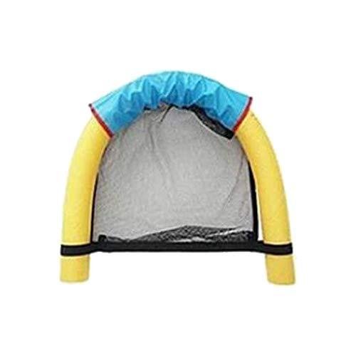 YUEKUN Schwimmender Stuhl Schwimmbäder Sitze Wassersitz Pool-Sitz mit Bade-Nudeln Floating Bed Chair