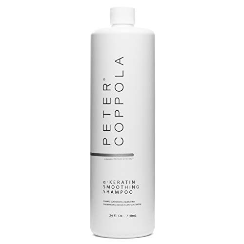 Peter Coppola Smoothing Shampoo 24 oz. - Smoothy Silky Hair - For Keratin Treated Hair - Infused with Argan Oil - Voluminous Hair