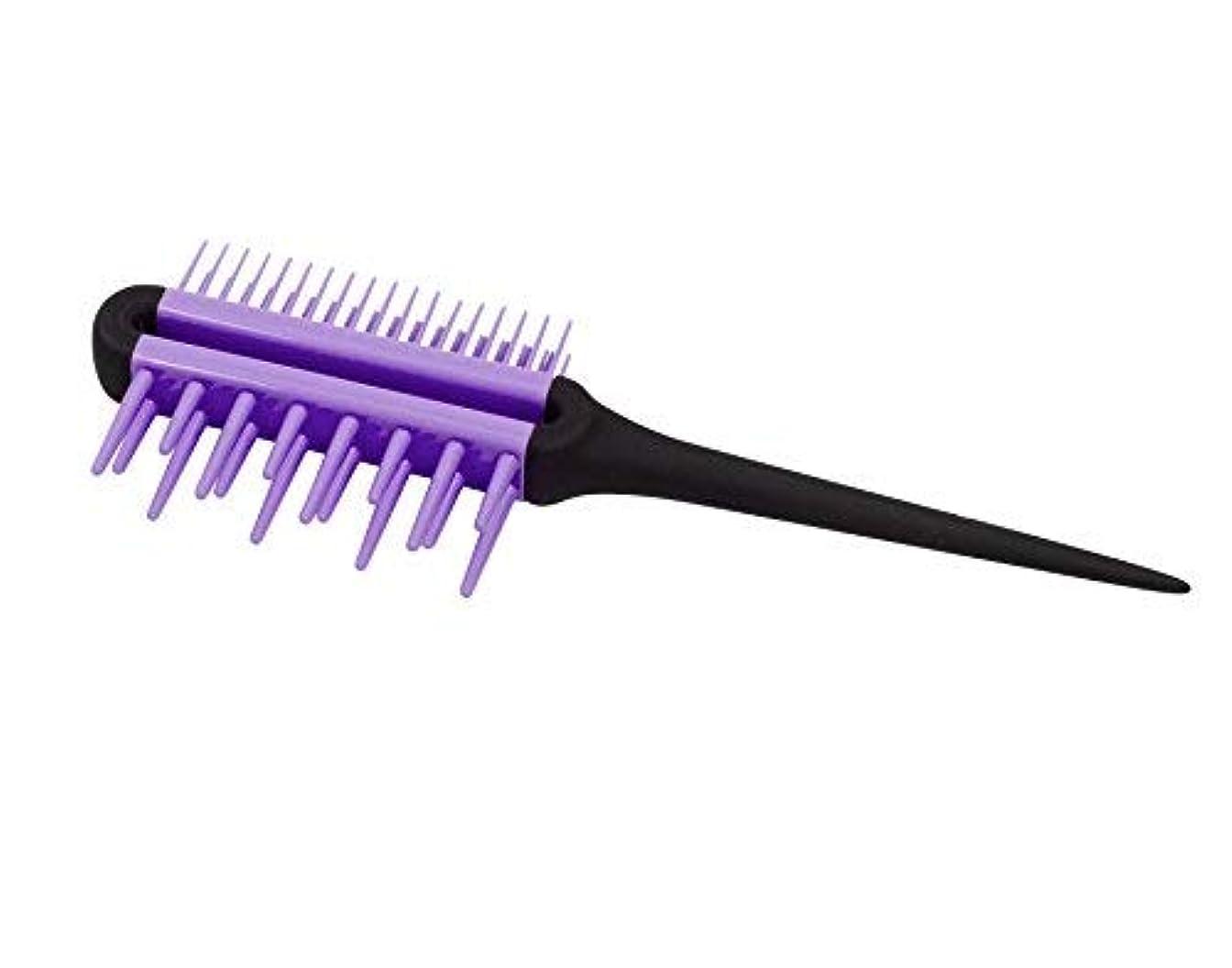 不足トランクライブラリ驚くべきSwissco Pro All-In-One Comb, Purple, 2-pack [並行輸入品]