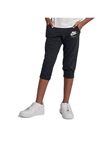 Nike Big Girls Sportswear Gym Vintage Knit Capri Sweatpants (Small)