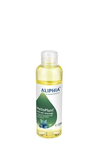 Olio da Massaggio, 100% Naturale, con Calendula e Camomilla, Delicatamente profumato, formato 250 ml, Senza parabeni, Idratante, Levigante, Elasticizzante, Etichetta...
