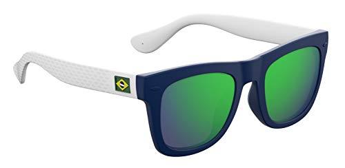 occhiali a specchio uomo Havaianas - PARATY/M - Occhiali da sole Donna e Uomo Rettangolare - Materiale leggero - 100% UV protection - Custodia protettiva inclusa